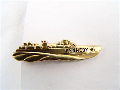 pt boat tie clip vintage kennedy 60 pt 109 boat tie bar pin jfk patrol