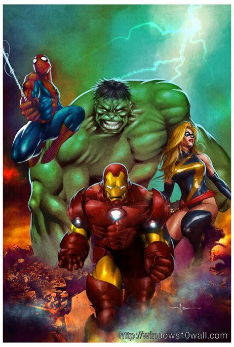 Mobil Marvel Heroes Isi 3 marvel wallpapers for mobile impremedia net