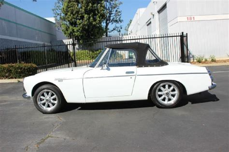 vintage datsun convertible awesome 1968 datsun roadster 1600 convertible