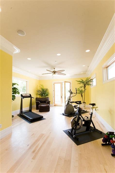 fitness room design 58 well equipped home design ideas digsdigs