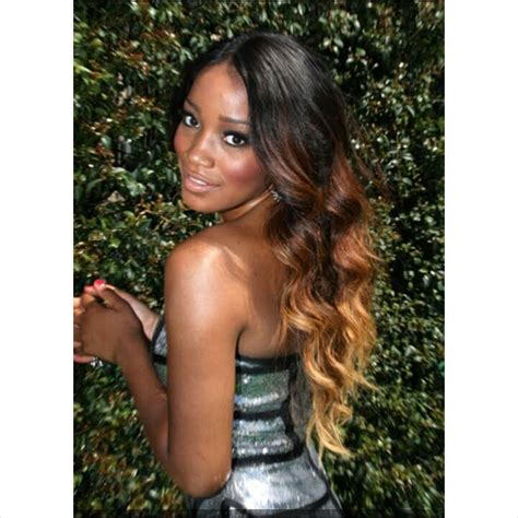 ambre bolosh hairstyles kekepalmer hairstyle in 10 minutes ali moda ombre hair