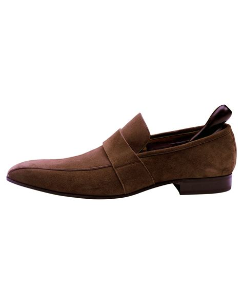 bally loafer shoes bally designer brown suede leather s loafer shoes on sale