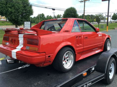Toyota Mr2 Tires Toyota Mr2 Auto Cross Scca Race Car Road Race Could Be Put
