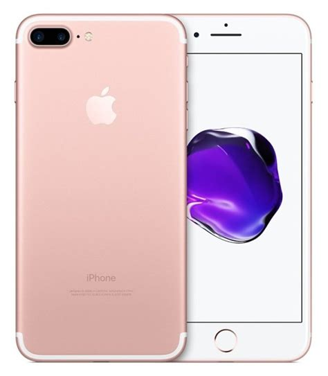 Apple Iphone 7 Plus 128gb Gold apple iphone 7 plus 128gb gold smartphones at ebuyer