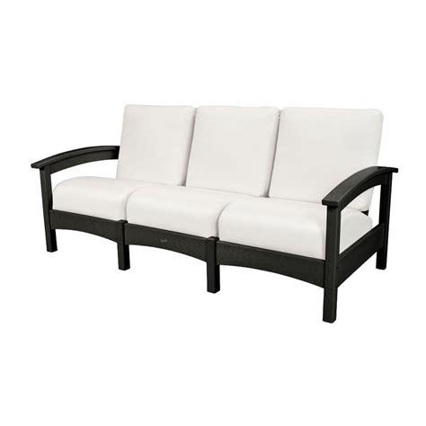 club sofa cushions trex outdoor furniture rockport club charcoal black patio