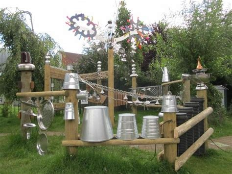 sound garden outdoor learning spaces outdoor play