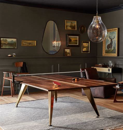 Ping Pong Dining Room Table by The Mod Ping Pong Table Ping Pong Table Tennis And