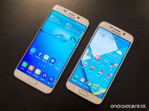 themes s6 edge plus quick comparison galaxy s6 edge plus versus s6 edge