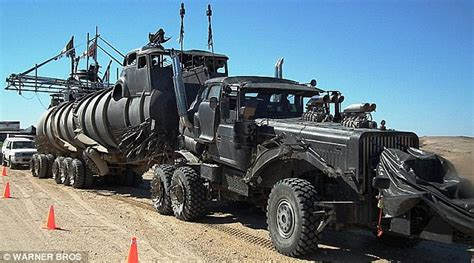 film semi zombie rugged machine carves up 150 acres of land in a day and