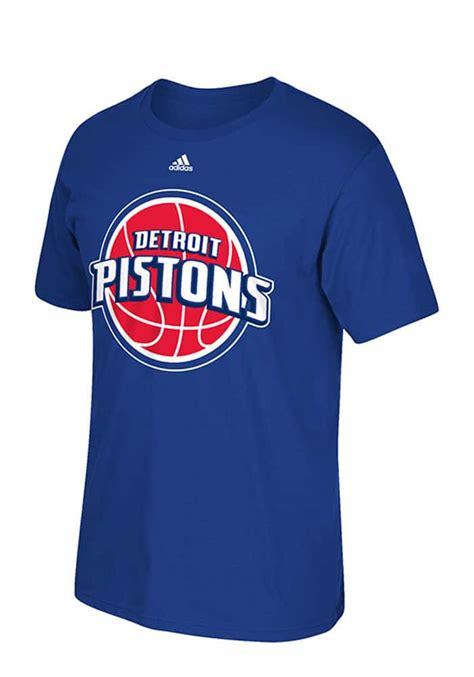 Tshirt Detroit Pistons 02 detroit pistons logo adidas blue t shirt detroit gear