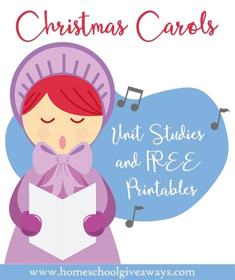 The Great Christmas Giveaway Lyrics - christmas carols unit studies and free printables
