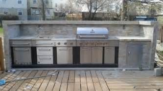 Modular Outdoor Kitchens Lowes by Shop Master Forge 6 Burner Modular Gas Grill At Lowes