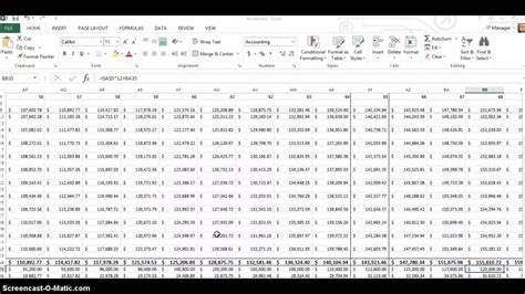 retirement planning  excel youtube