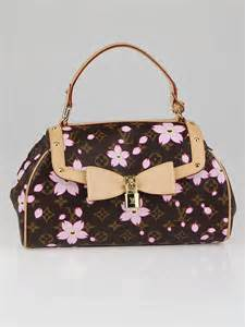 Find Louis Vuitton Cherry Blossom Griotte Bag by Louis Vuitton Limited Edition Cherry Blossom Monogram