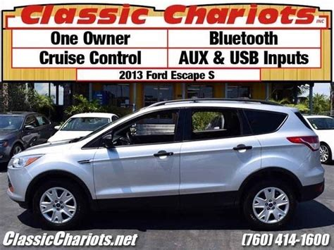 sold used suv near me 2013 ford escape s with