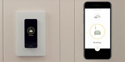 smart light switch home smart light switch w built in oled panel is an