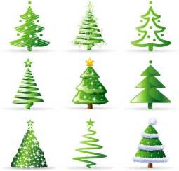photoshop brushes christmas trees