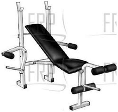 parts of a weight bench weider ecs webe05590 fitness and exercise equipment