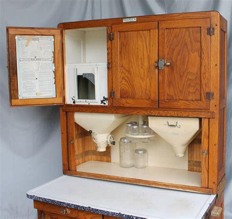 Bargain John's Antiques   Oak Hoosier Kitchen Cabinet