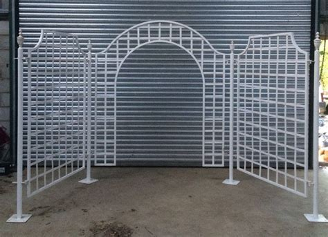 White Wedding Arch Uk by Secondhand Prop Shop Wedding Arch Metal Wedding Arch