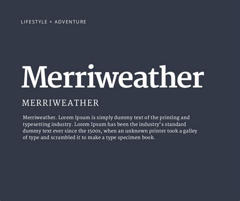 canva font download merriweather merriweather lorem ipsum is