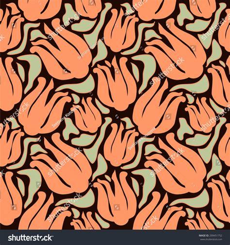 history of pattern in art art nouveau seamless pattern art history stock vector