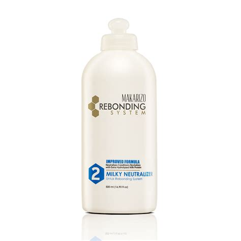 Shoo Makarizo Untuk Meluruskan Rambut rebonding system neutralizer 500 ml makarizo store