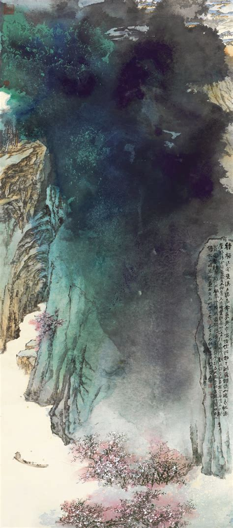 znag painting liu yiqian buys zhang daqian ink painting for 35m