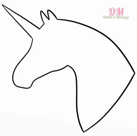 printable unicorn eyes template diy unicorn hair bow tutorial includes unicorn template