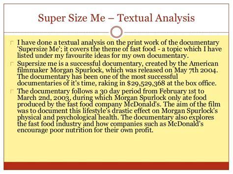 Supersize Me Essay by Supersize Me Essay Reportz725 Web Fc2