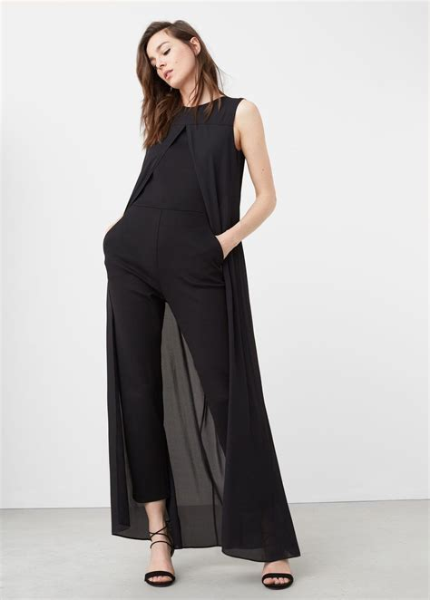 Layer Jumpsuit By layer jumpsuit layering jumpsuit mango and