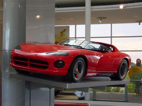 Dodge Viper Concept 1989 Dodge Viper Rt10 Concept Vehicle Car Photos Catalog