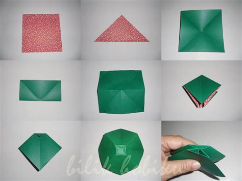 cara membuat origami pita origami beautiful bow