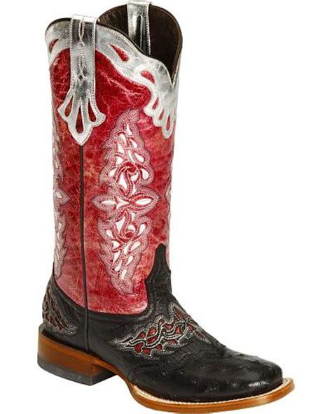 women s ostrich skin boots ostrich skin boots