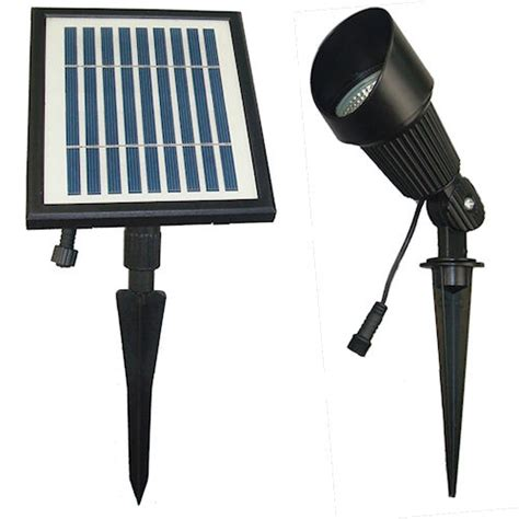Solar Goes Green Commercial Grade Solar Spot Light Solar Powered Flagpole Light Commercial Grade