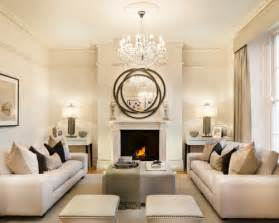 Formal Living Room Ideas Modern transitional formal enclosed living room photo in london with beige