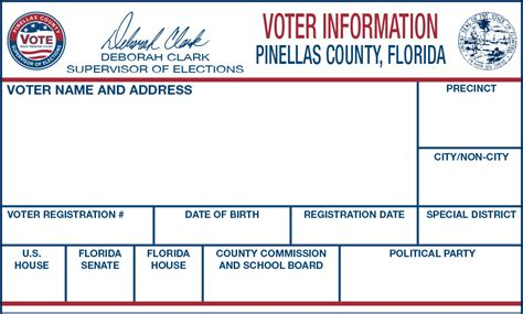 Registration Card For Voting Template by Voters Registration Card Search Engine At Search