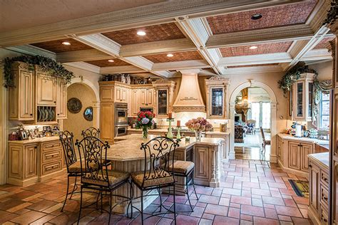Country Style Home Interior by Luxury Living Dream Kitchens Christie S