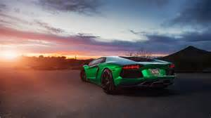 lamborghini aventador green 4k wallpaper hd car wallpapers