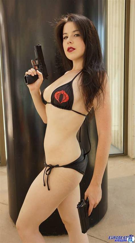 hot chick in gi joe kit as baroness from gi joe cosplay girls pinterest