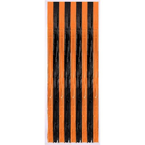 halloween door curtain black orange halloween door curtain 359868