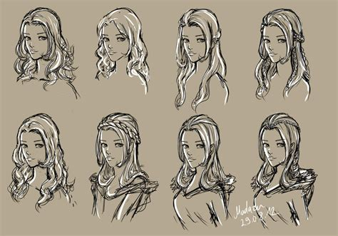 girl hairstyles deviantart hairstyles by madazu on deviantart