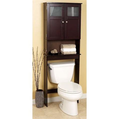 over the toilet standing shelf over the toilet bathroom espresso free standing over the toilet etagere bathroom