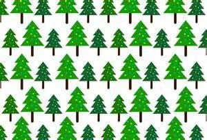 christmas trees pattern background free stock photo