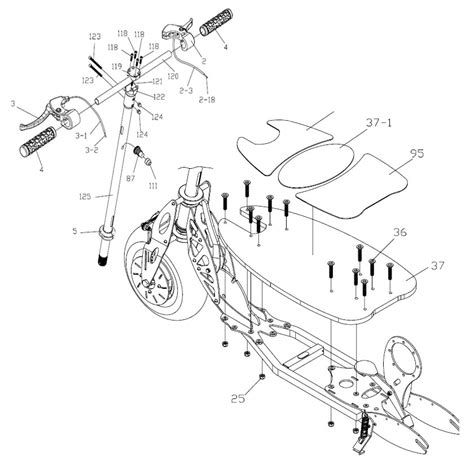 bladez electric scooter wiring diagram electric wheelchair