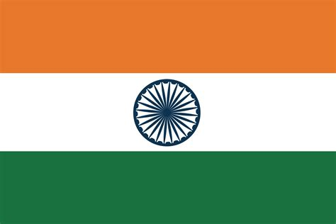 Flag Of India 2009 Clipart Etc Printable Indian Flag