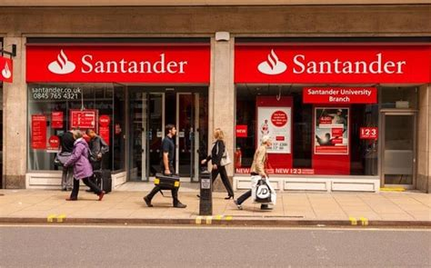 santanter bank santander changed us by 163 21 000 telegraph