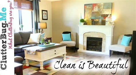 a clean home is beautiful organizing tip of the day