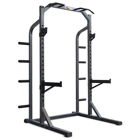 Half Rack Fitness Gear by Light Commercial Half Rack Iron Power No 1 Fitness