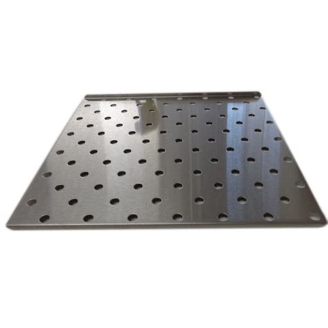 perforated stainless steel shelf for salvislab